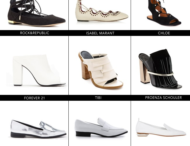 Spring Shoe Trends for Every Budget