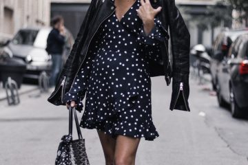Polka Dot Wrap Dress (Zara) in Paris
